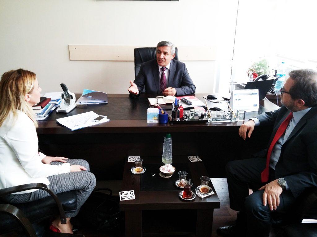 Sn Dr. Recep ALTIN Milli Eğitim Bakanlığı Mesleki ve Teknik Eğitim Genel Müdürlüğü Daire Başkanı